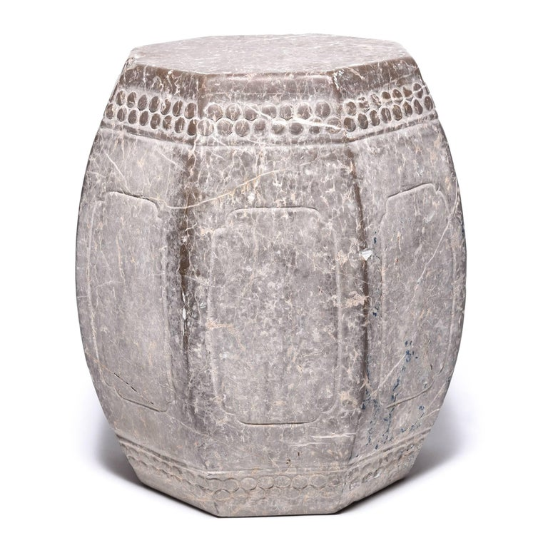Chinese Eight Corner Stone Drum 3