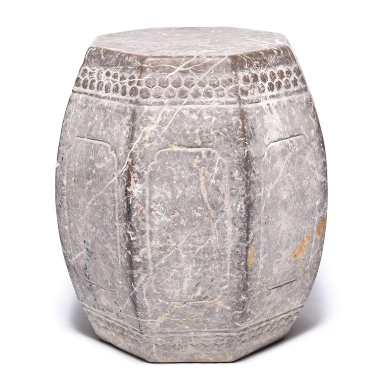 Chinese Eight Corner Stone Drum 4