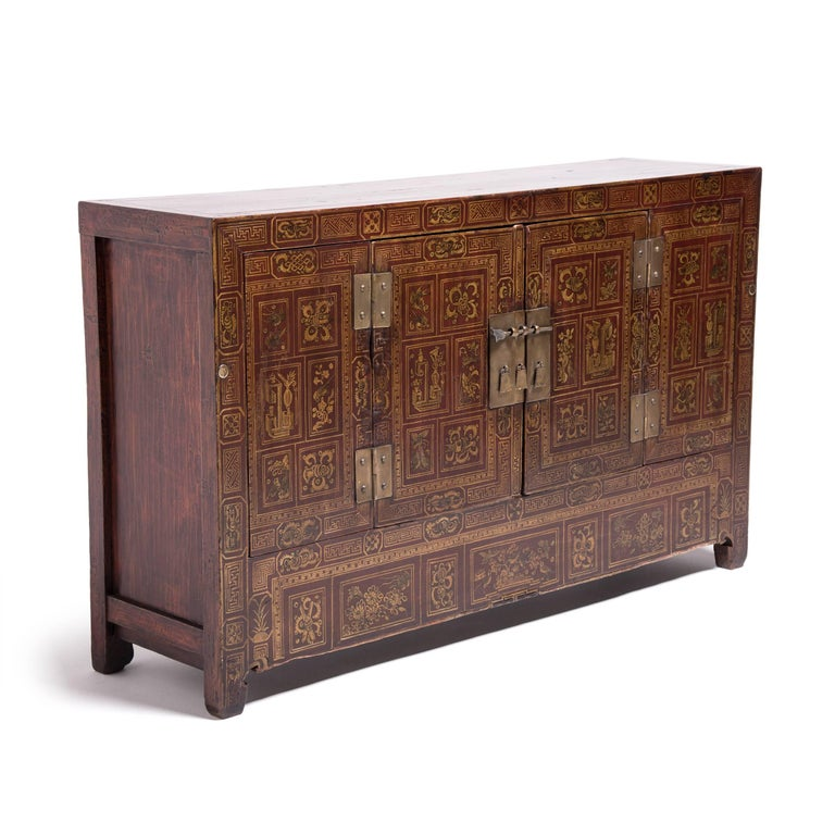 Chinese Square Corner Chest 2