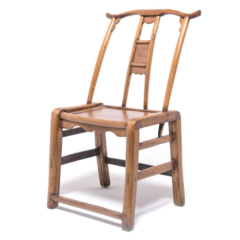 Pair of chinese provincial bentform chairs for sale at 1stdibs for Asian chairs for sale