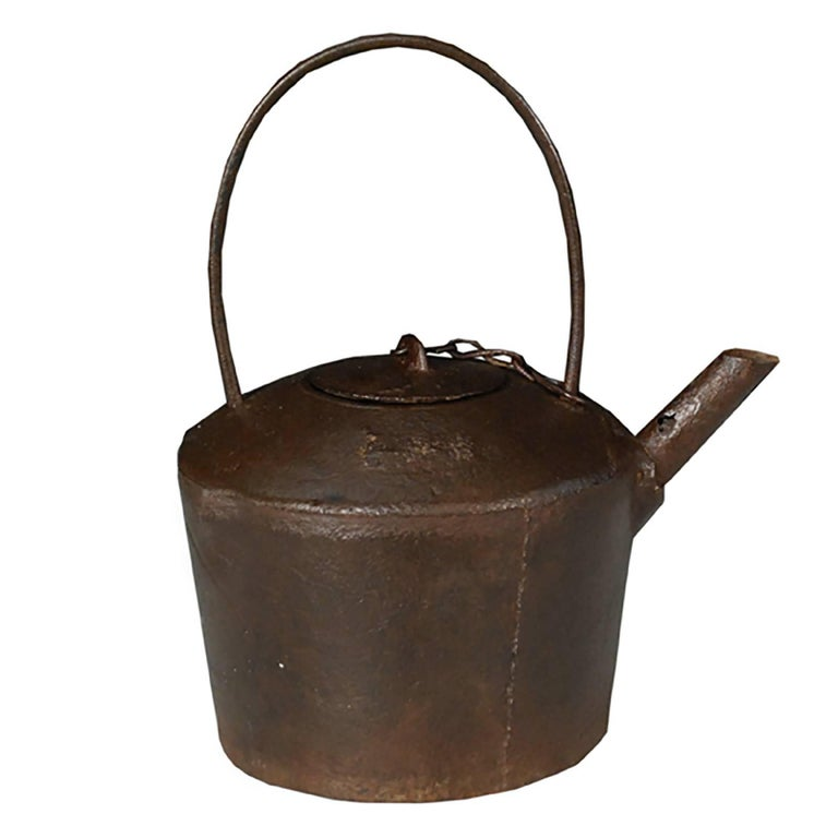Chinese cast iron tea pot for sale at stdibs