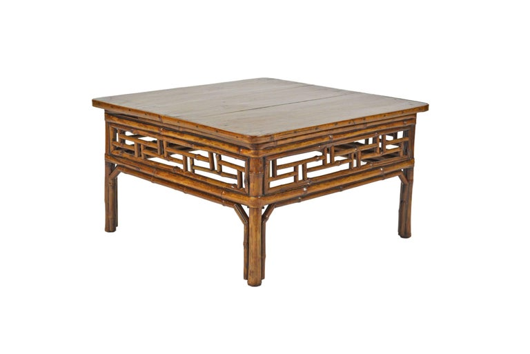 Chinese Low Bamboo Table 2
