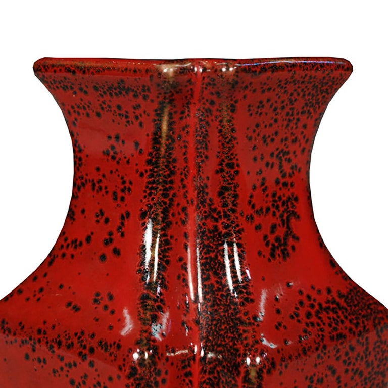 Pair of Chinese Petite Oxblood Double Form Vases 3