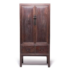 Chinese Two-Door Two-Drawer Cabinet