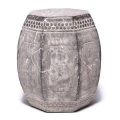 Chinese Eight Corner Stone Drum