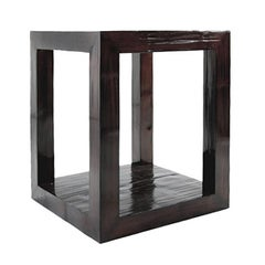 Chinese Crushed Bamboo Pedestal