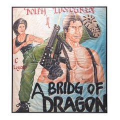"""A Bridge of Dragon"" Ghanaian Movie Poster"