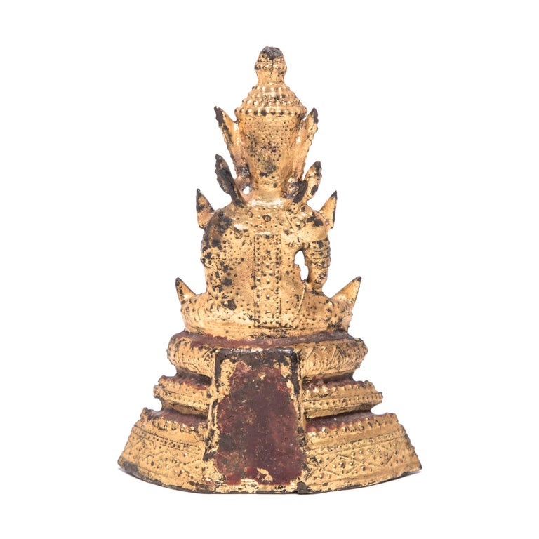 20th Century Thai Gilt Buddha Figure For Sale