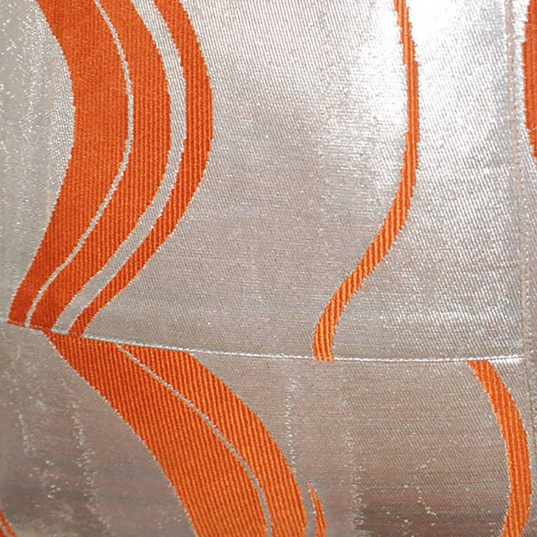 Late 20th Century Pair of Pillows made from Vintage Japanese Obis For Sale
