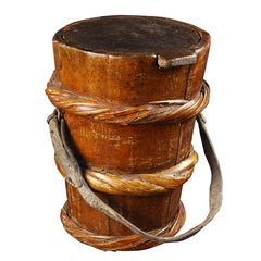Mongolian Yak Butter Container
