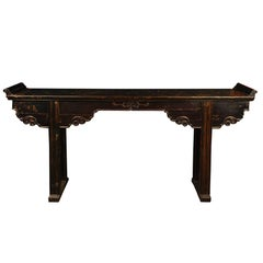 Chinese Shallow Altar Table