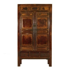 Early Qing Paneled Cabinet