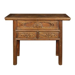 Chinese Three Drawer Altar Table