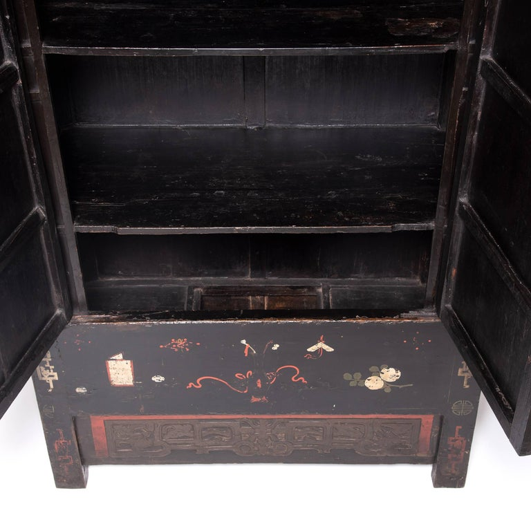 Qing 19th Century Chinese Scholars' Cabinet For Sale