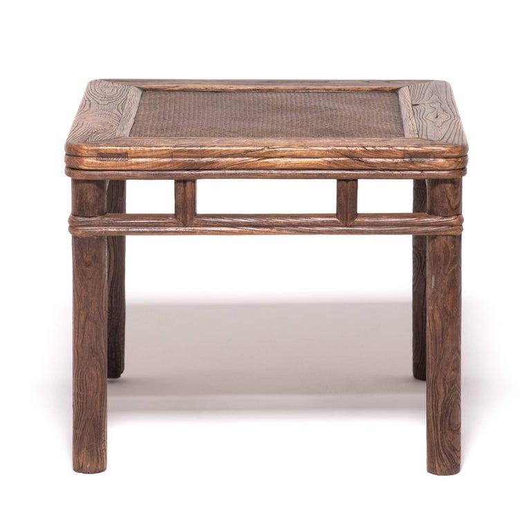 Pair of 19th century chinese rattan top round corner stools for sale pair of 19th century chinese rattan top round corner stools for sale 5 watchthetrailerfo
