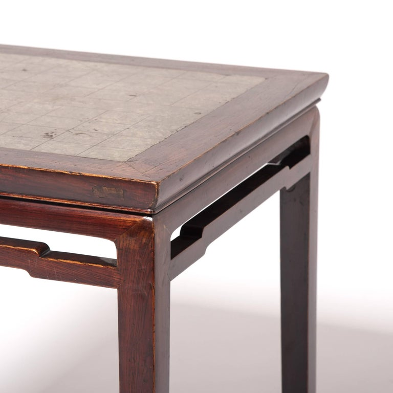Stone 19th Century Chinese Weiqi Table For Sale