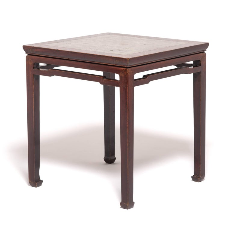Etched 19th Century Chinese Weiqi Table For Sale