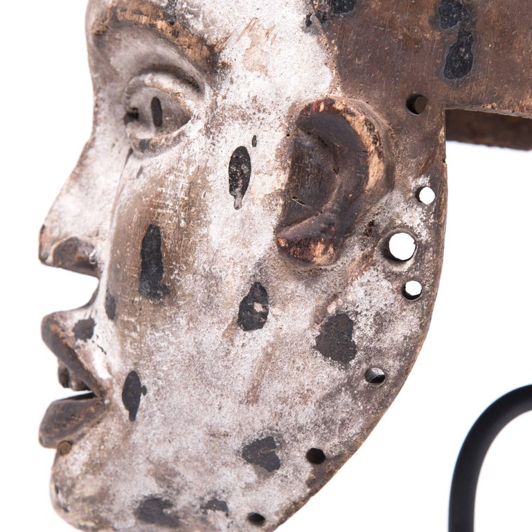 20th Century Kongo Funeral Mask For Sale