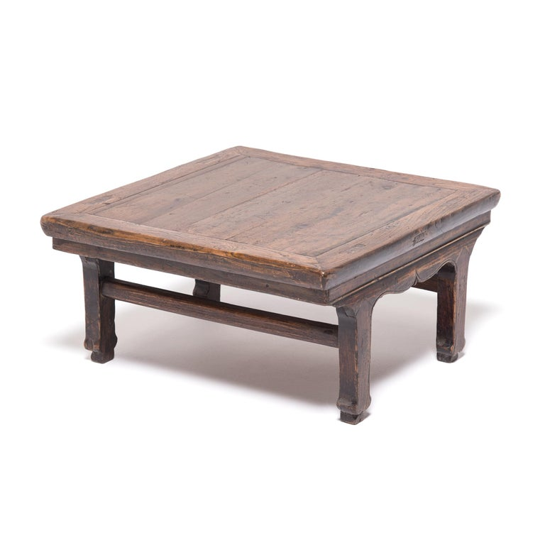 19th Century Chinese Provincial Low Table In Good Condition For Sale In Chicago, IL