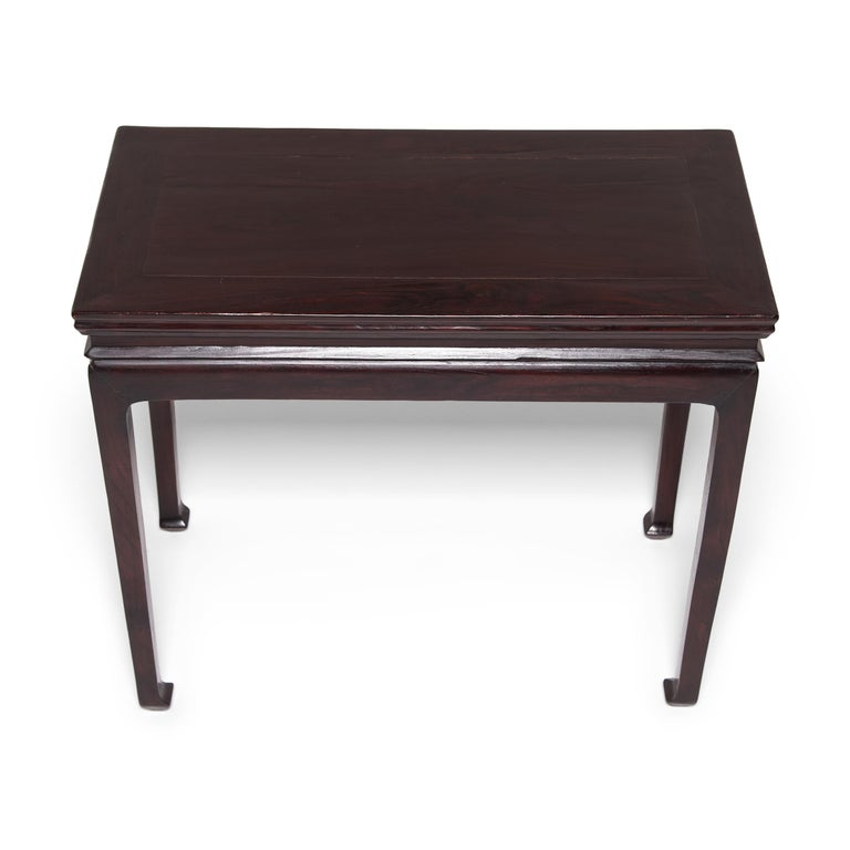 Elm 19th Century Chinese Wine Table For Sale
