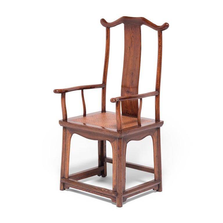 Qing Pair of 19th Century Chinese Official's Chairs For Sale