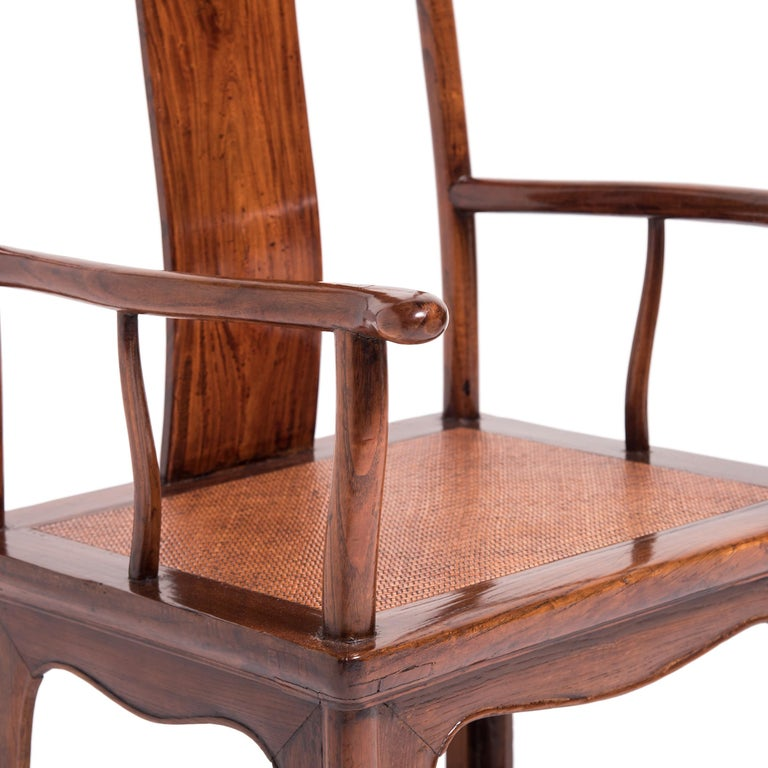 Pair of 19th Century Chinese Official's Chairs For Sale 2