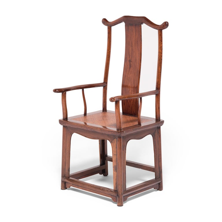 Pair of 19th Century Chinese Official's Chairs For Sale 4