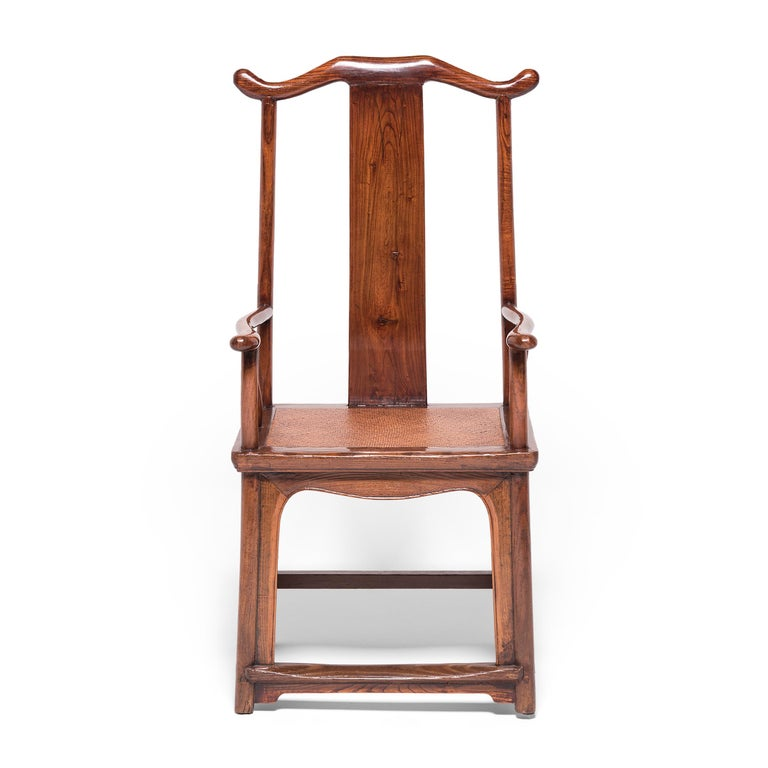 Pair of 19th Century Chinese Official's Chairs For Sale 3