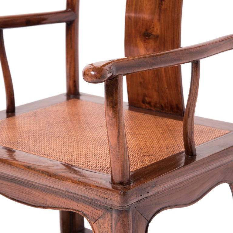 Pair of 19th Century Chinese Official's Chairs For Sale 8
