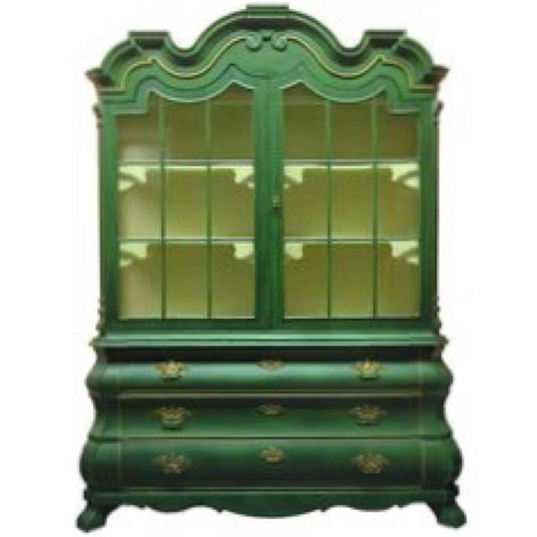 Dorothy Draper Viennese Collection Cabinet for Henredon, circa 1963