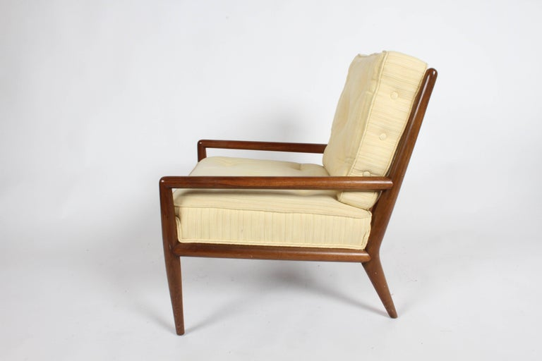 American Pair of Classic T.H. Robsjohn-Gibbings for Widdicomb Lounge Chairs For Sale