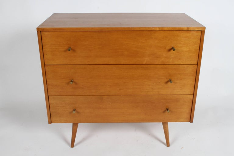 Mid-20th Century Pair of Paul McCobb Planner Group Three-Drawer Chest For Sale
