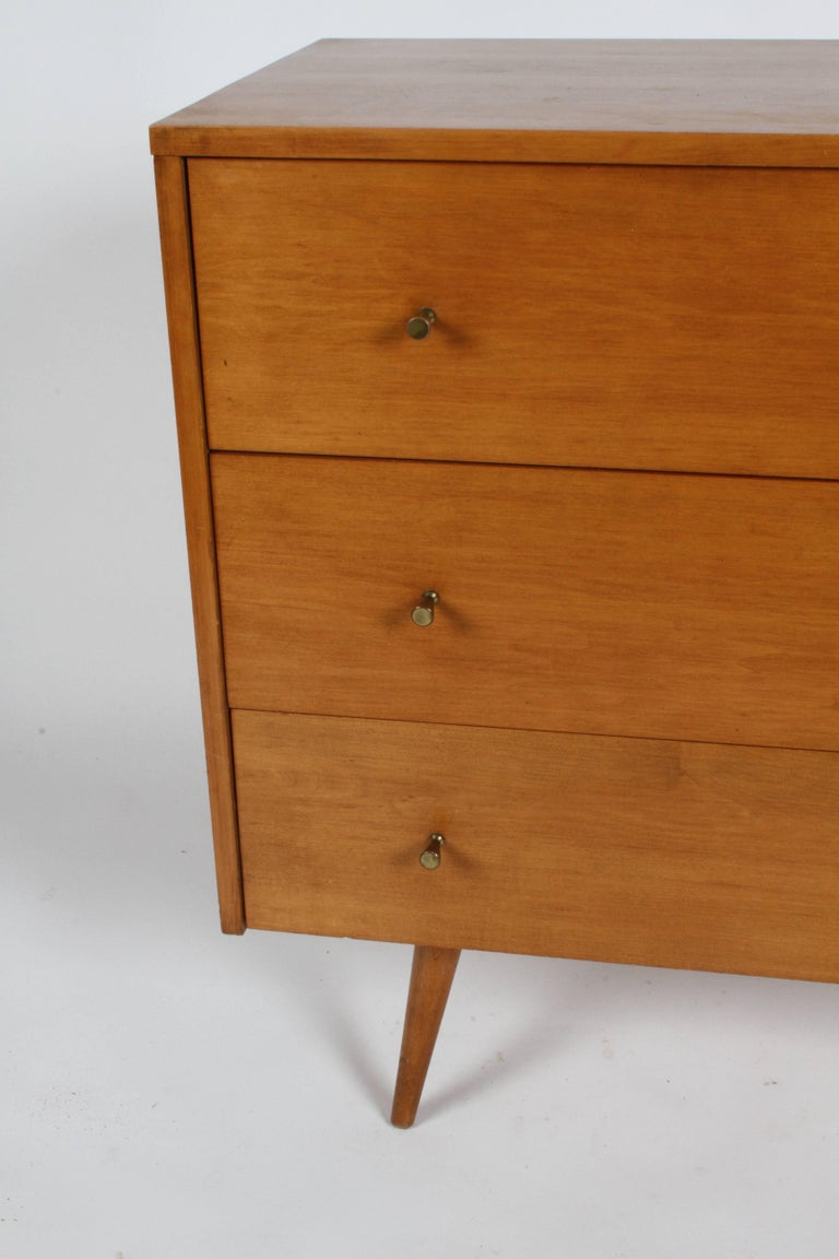 Maple Pair of Paul McCobb Planner Group Three-Drawer Chest For Sale