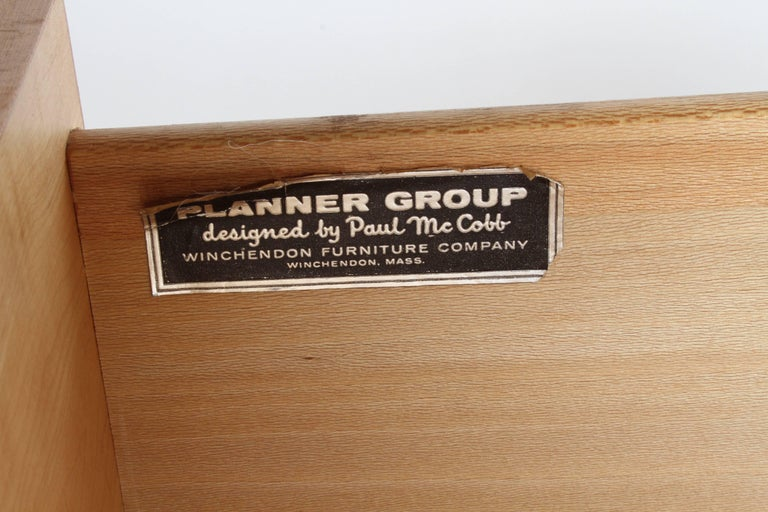 Pair of Paul McCobb Planner Group Three-Drawer Chest For Sale 1