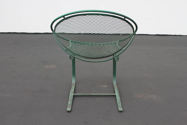 Mid-Century Modern Salterini Patio Set Table with Four Radar Chairs For Sale 12