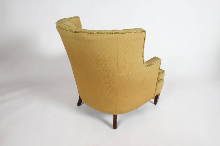 Pair of 1940s Tomlinson Barrel Back Lounge Chairs  For Sale 2