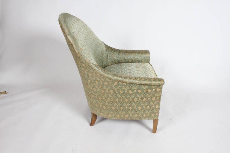 Elegant Spoon Back Romweber Lounge Chair  For Sale 3