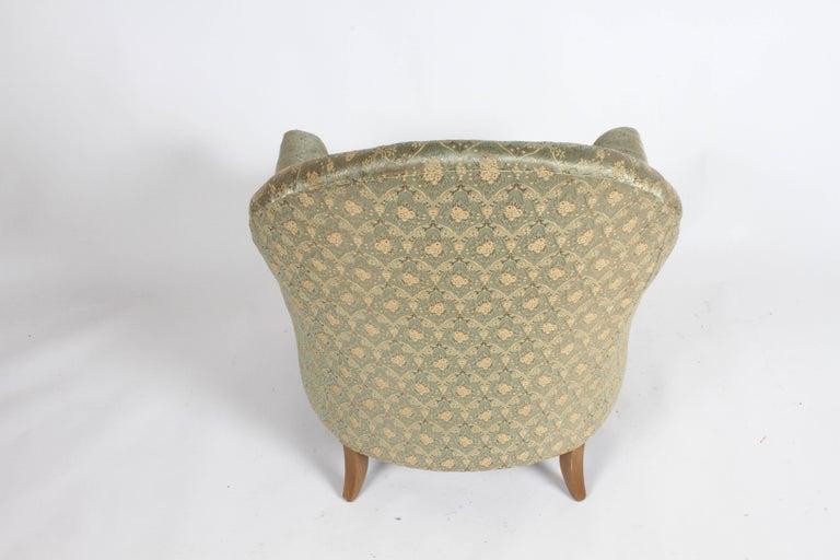 Elegant Spoon Back Romweber Lounge Chair  For Sale 7