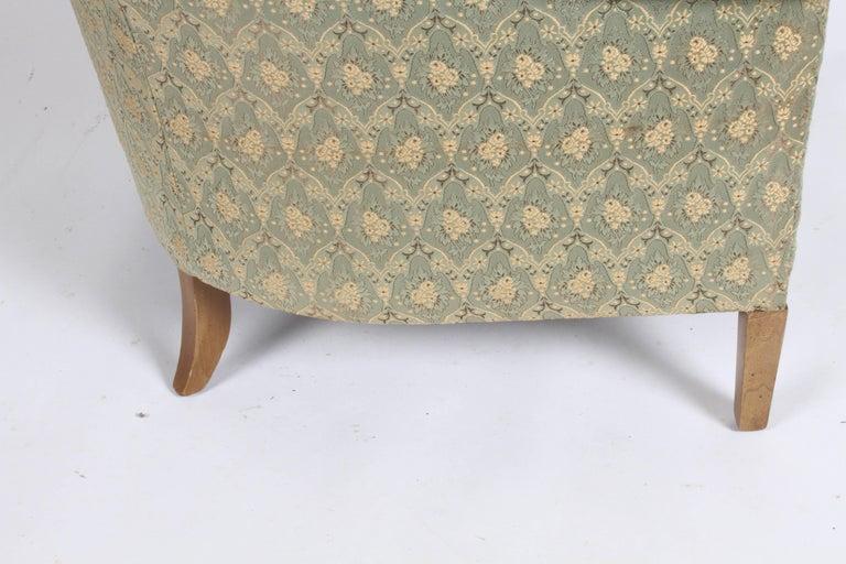 Elegant Spoon Back Romweber Lounge Chair  For Sale 4
