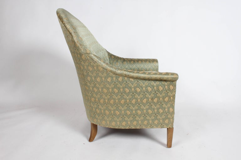 Elegant Spoon Back Romweber Lounge Chair  For Sale 2