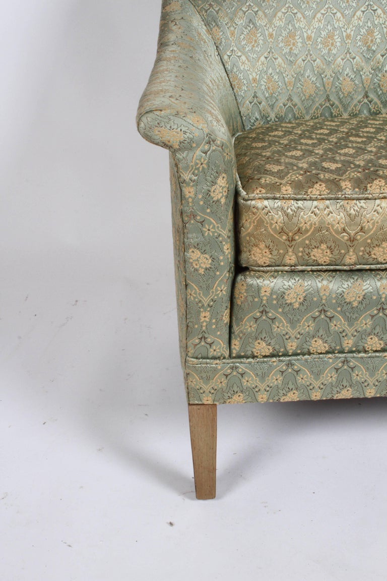 American Elegant Spoon Back Romweber Lounge Chair  For Sale