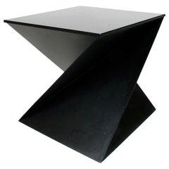 Italian Cubist Side Table