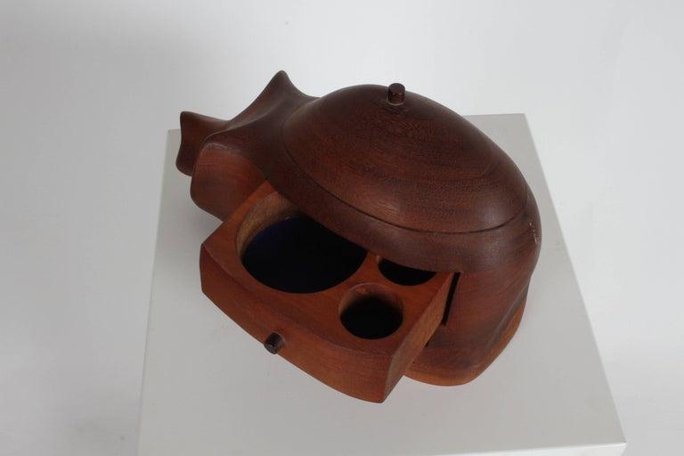 Deborah D. Bump Rhino Jewelry Trinket Box For Sale 2