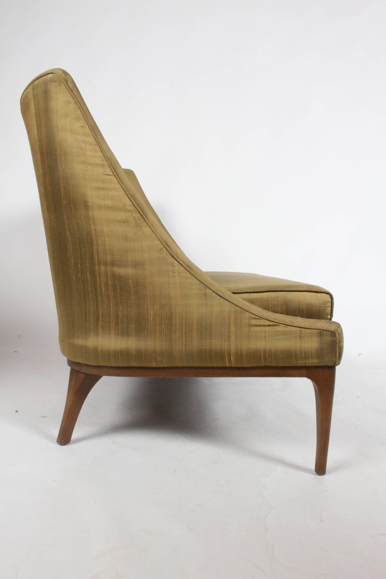 Upholstery Pair of Lawrence Peabody Midcentury Loveseats, Settees or Sofas For Sale