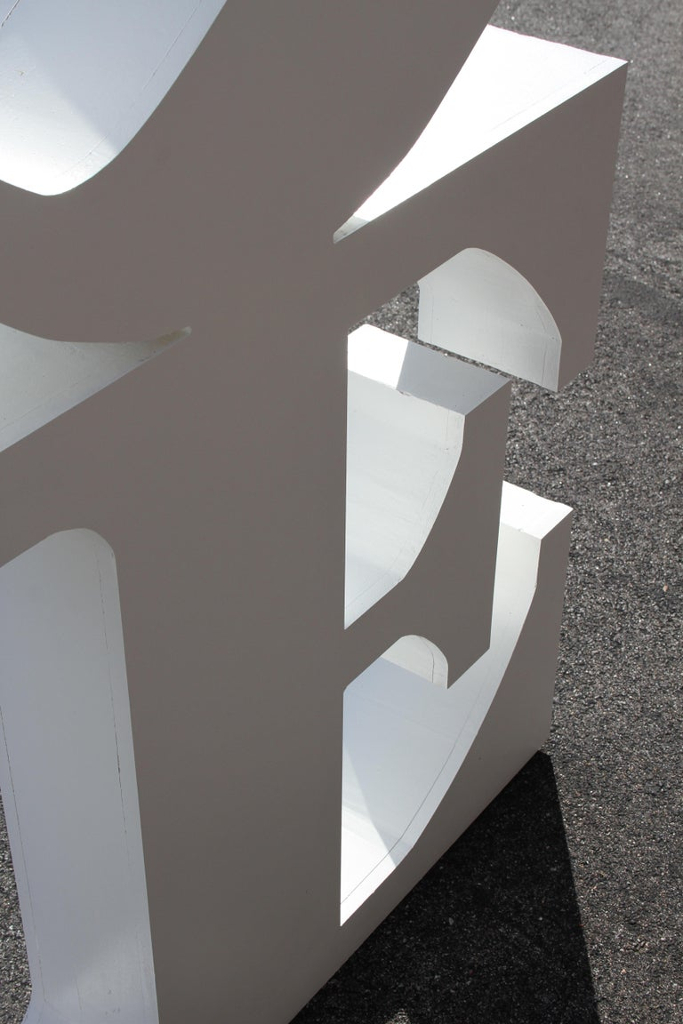 After Robert Indiana Large LOVE Sculpture Pop Art - 72