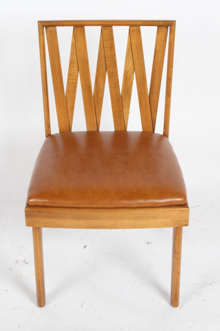 Mid-Century Modern Paul Frankl for Johnson Dining or Desk Chair For Sale