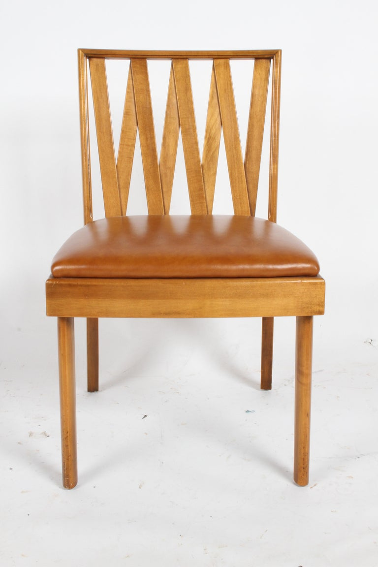 American Paul Frankl for Johnson Dining or Desk Chair For Sale