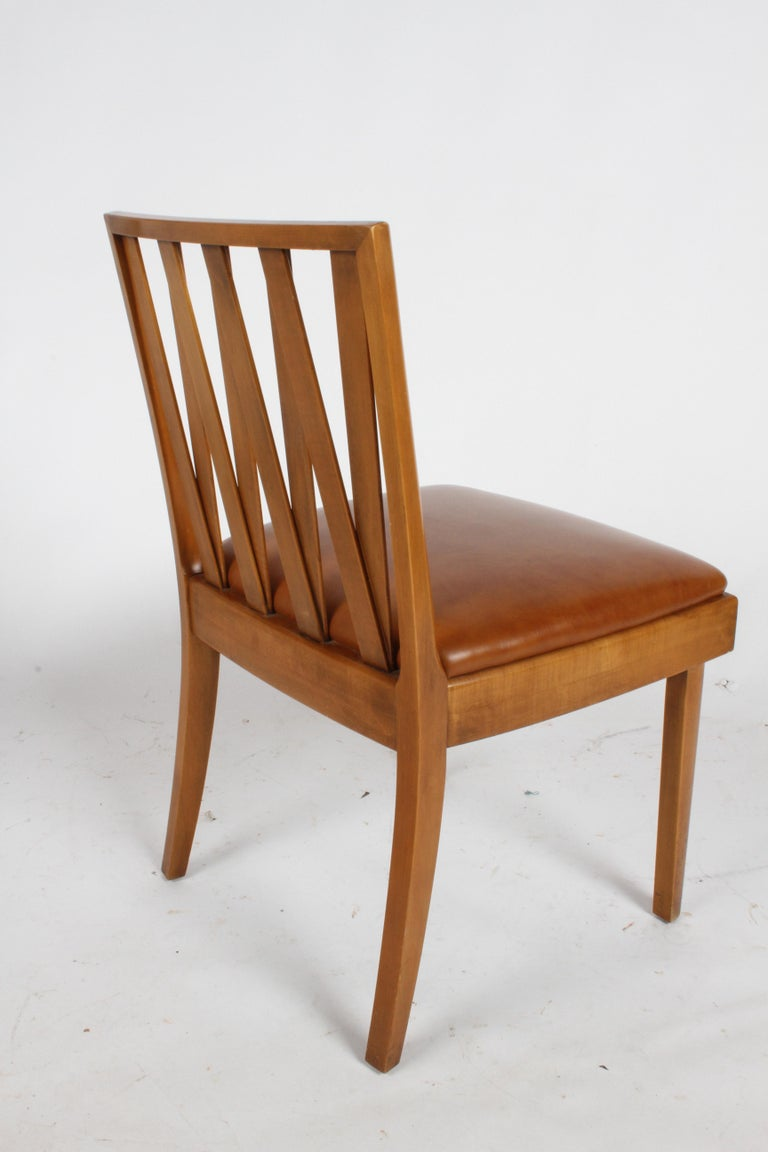 Mid-20th Century Paul Frankl for Johnson Dining or Desk Chair For Sale