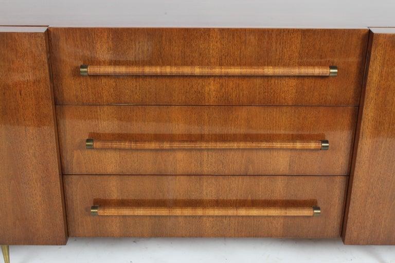Mid-20th Century Rare T.H. Robsjohn-Gibbings for Widdicomb Sideboard For Sale