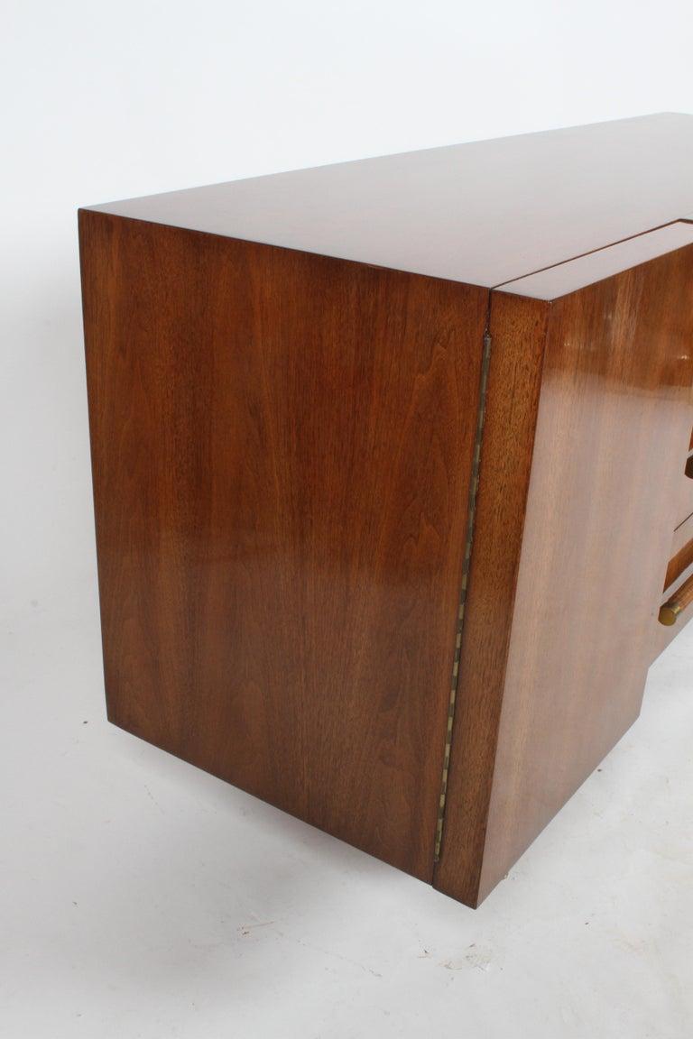 Rare T.H. Robsjohn-Gibbings for Widdicomb Sideboard For Sale 9